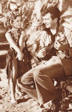 Shirley Temple and Buddy Ebsen in Captain January, 1936