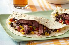 If grilled skirt steak fajitas are your favorite Southwestern restaurant order, you've got to try this recipe! It's easy, tasty—and ready in 30 minutes.