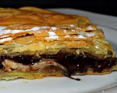 Greek Desserts, Greek Recipes, Low Calorie Cake, Nutella Recipes, Pitta, Canning Recipes, Cheesesteak, Dessert Recipes, Sweets