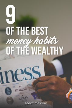 While it's tempting to believe that wealth is about being lucky, the reality is that it's mostly about using God-given wisdom and developing the smart money habits. Here's 9 of the Best Money Habits of the Wealthy that you can start implementing today! Ways To Save Money, Money Tips, Money Saving Tips, Budgeting Finances, Budgeting Tips, Frugal Living Tips, Managing Your Money, Money Matters, Finance Tips