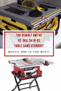 When you want to compare table saws within the price range $200 to $300, then you should read my Dewalt DW745 vs Skil 3410-02 comparison. via @powertoolsninja