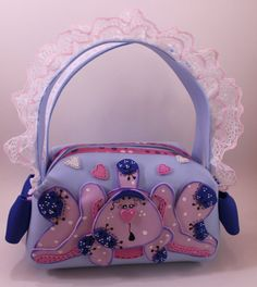 Bunny Little Girl Purse by SweetBellaLuna on Etsy, $11.50