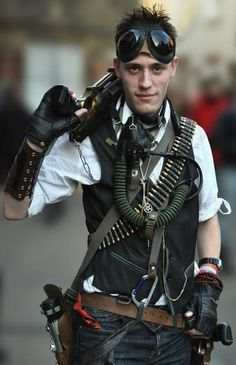 steampunk pirates male - Google Search