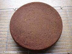 Aito suklaakakkupohja