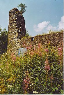 """Clan Johnstone Lochwood Tower - In the winter of 1547, Sir Thomas Carleton & his band of Reivers had raided deep into Dumfriesshire & needed a base of operations - Lochwood Tower became that place, they took the tower & held it for 3 years while they plundered the surrounding area.  The kicker?  Sir Tom was the Deputy Warden of the English West March - charged w/ keeping law & order.  He was also an expert cattle thief & skillful Reiver - not unusual for a Border official in the """"Riding…"""
