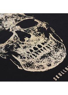 Skull Golden - Black