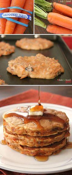 Monica's Carrot Cake Pancakes