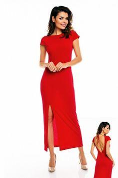 Evening dress model 49011 awama