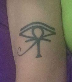 Eye of Horus and Ankh