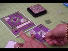 hand crafted quilt card video tutorial: Paper Quilting