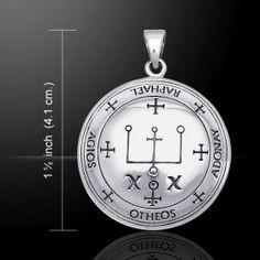Sigil of Archangel Raphael Pendant (Sterling Silver)