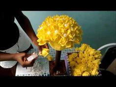 Parte 3 Topiaria=montagem foami - YouTube