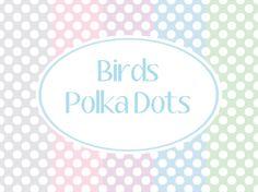 FREE Printable Paper~Small Polka Dots
