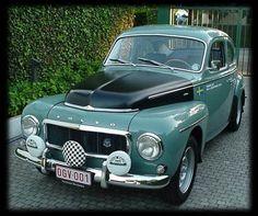 Volvo Adventures, PV544S Rally Car, Guy Vermant, Belgium