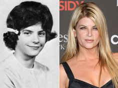 Kirstie Alley Celebrity Yearbook Photo Answer