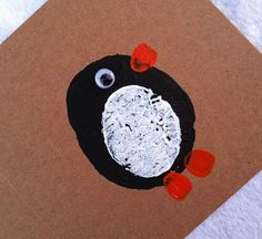 Potato Printing, Finger Printing & Googly Eyes An easy peasy cute Christmas Card to make at home with the humble spud and some acrylic paint. Our little waddle of toe tapping friends were finished this weekend – the To Do list is getting shorter ;;) the Step By Step Tutorial follows Step One: first pick [&hellip
