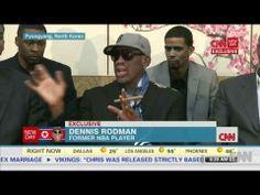 Former NBA player Dennis Rodman talks exclusively to CNN's