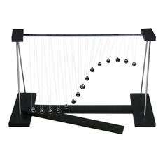 iPhyhe Perpetual Motion Balance Desk Toy Swing Display Gift for Office Home Family