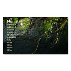 The Nature of Night business card. I love this design! It is available for customization or ready to buy as is. All you need is to add your business info to this template then place the order. It will ship within 24 hours. Just click the image to make your own!