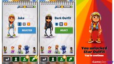 Subway Surfers - JAKE vs DARK vs STAR OUTFIT - Characters Review ...