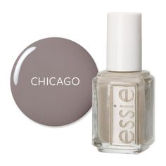 America's Most Wanted Nail Polish Chicago, IL: Greige In the windy city, Juko Salon pinned Essie's Chinchilly as Chicago's coolest shade.  $ 8; essie.com.