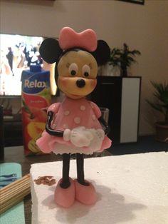 Minnie z marcipanu