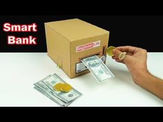 How to Make Smart Personal Bank Saving Coin and Cash - YouTube