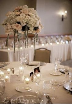 Centerpieces Wedding Flowers Photos