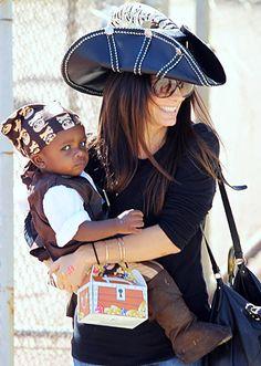 Louis, Sandra Bullock's son