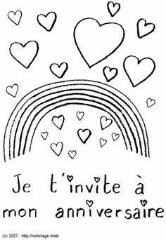 Pyjamas and invitations on pinterest - Dessin invitation ...