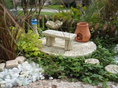 All miniatures are Made in the U.S.A.   www.wholesalefairygardens.com