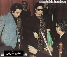 بليغ حمدي مع ام كلثوم في تسجيل الف ليلة وليلة    #Egypt