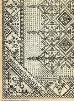 inspiration for blackwork embroidery