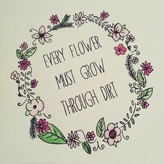 flower background tumblr with quotes - Google Search