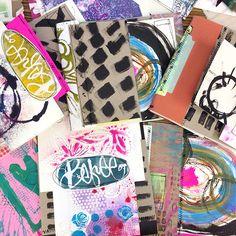 """""surprise ME"""" handmade art journal"