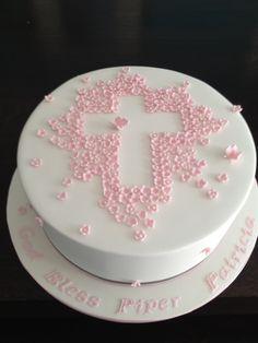 Christening Cake on Cake Central