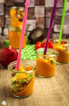 Fingerfood im Glas (Tomatencreme)