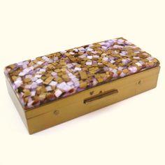 Vintage Cigarette Case Box