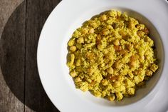 Curried Couscous With Turkey, Chickpeas and Golden Raisins