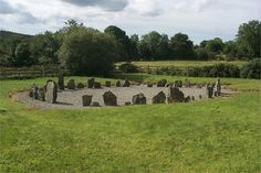 Image detail for -... drumskinny stone circle near ederney county fermanagh northern ireland