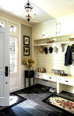 Country chic #entryway. #adoredecor