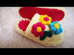 Slippers, Shoes, Instagram, Youtube, Fuzzy Slippers, Crochet Shoes, Over Knee Socks, Creativity, Tejidos