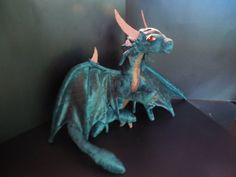 PDF PATTERN wearble dragon plush by GameGuardians on Etsy