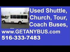Used Passenger Buses For Sale in FL by NY Dealership | Call CHARLIE @ 516-333-7483 | 2006 Ford E450 Non-CDL Wheelchair passenger bus for sale in Florida