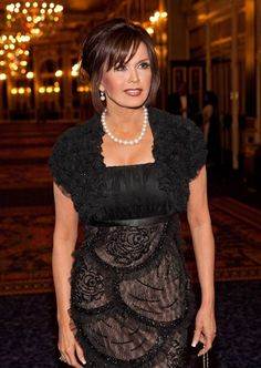 Marie Osmond treasured trips to Los Angeles to see her son Michael Marie Osmond Hot, Donny Osmond, Girl Celebrities, Beautiful Celebrities, Celebs, Osmond Family, The Osmonds, Natural Women, Satin Dresses