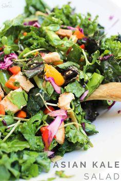 Asian Kale Salad wit