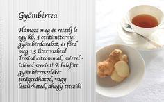 Gyömbér tea recept