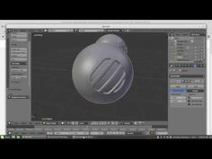 Geometry to curved surface *In Blender* :) - YouTube