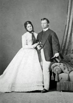 Maria Theresa of Austria-Este (1849–1919) and her husband Ludwig III of Bavaria.