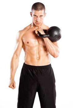 Men's Fitness - Training - 5 Kettlebell Exercises for Beginners